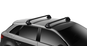 7205 Thule Edge  + Wingbar Edge BLACK alu + KIT - montaż pod drzwi