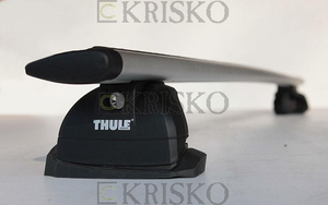 751+EVO 150cm+KIT Thule Fix Point (alu.) ( z zamkiem)
