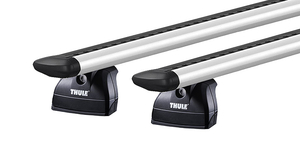 Thule 753 + Wingbar EVO 118 (alu) + KIT (50)