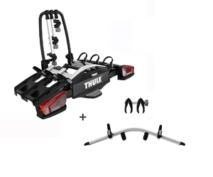 926 Thule VeloCompact + 926100 na 4 rowery
